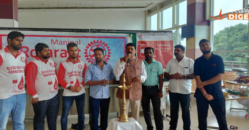 Inauguration of blood donation camp